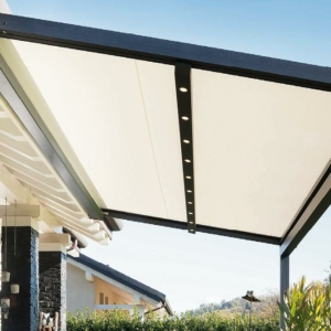 Tenda a pergola Xtesa plain di KE Outdoor Design
