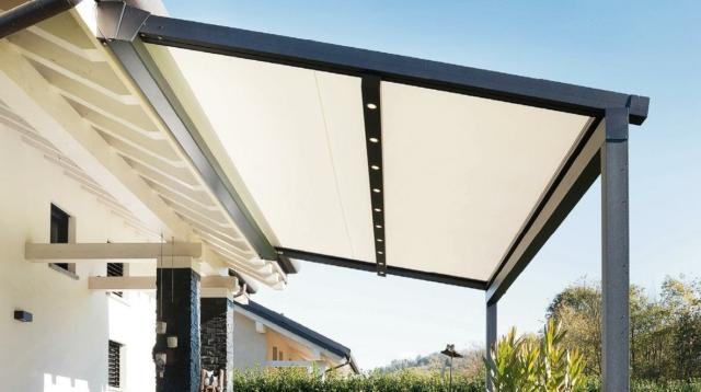 Tenda a pergola Xtesa plain di KE Outdoor Design