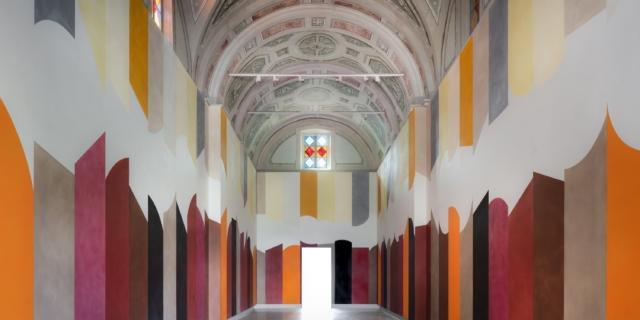 David Tremlett e il progetto per la Cappella del Monastero di San Maurizio