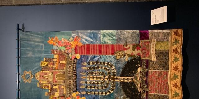 Tutti i colori dell'Italia ebraica. Tessuti preziosi dal Tempio di Gerusalemme al prêt-à-porter