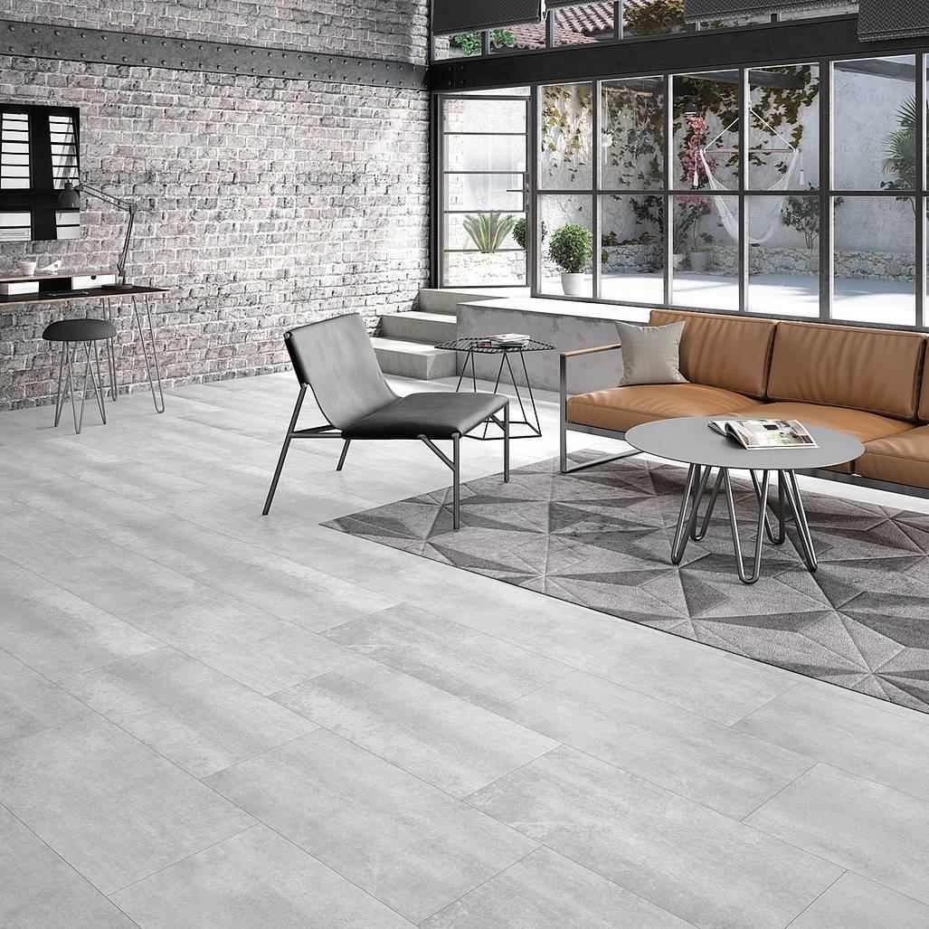 Pavimenti effetto cemento con i prodotti leroy merlin for Linoleum prezzi leroy merlin