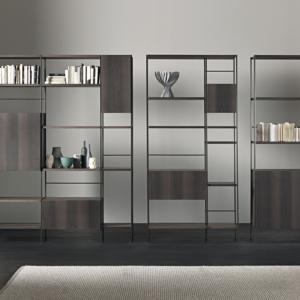 Libreria Outline, design Giacomo Moor