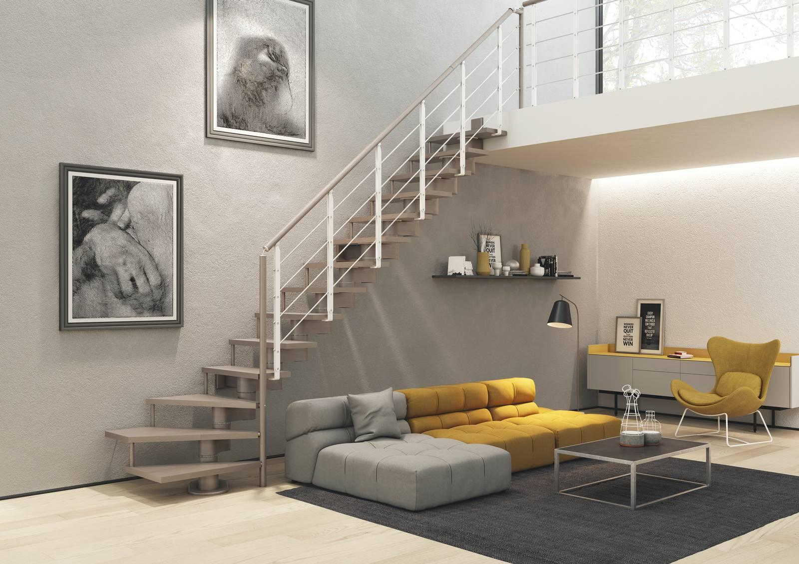 Alzata Massima Scala Interna scale interne: materiali, tipologia e dimensioni - cose di casa