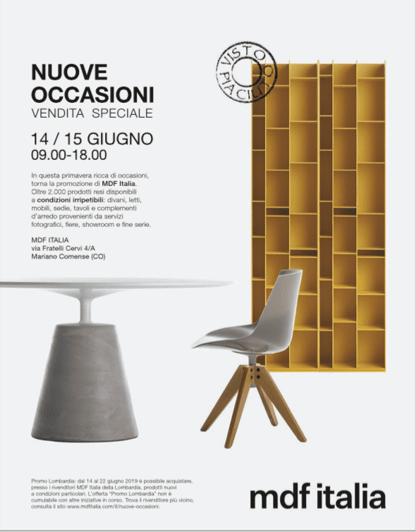 Svendita MDF Italia giugno 2019