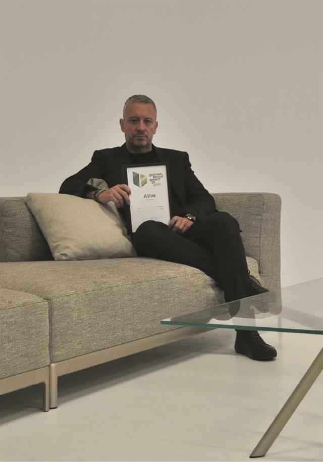 Andrea Sanguineti brand manager e design director di Alias, vincitrice del German Brand Award 2019, per la categoria Excellent Brand.