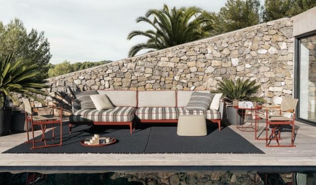 b&b italia Ribes divano per esterno