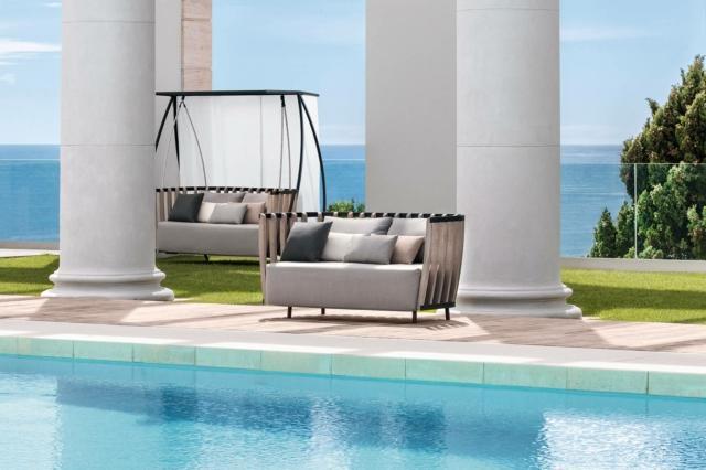 ethimo Swing divano per esterno