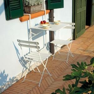 tavolino da balcone pieghevole di Greenwood  - www.greenwoodgarden.it