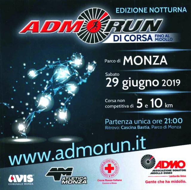locandina 2019 ADMORun