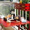 made in design Balcon Bistro_Fermob tavolino da balcone piccolo pieghevole