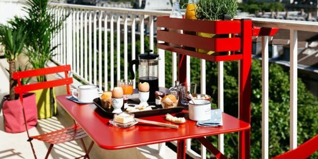 Tavolini da balcone piccoli e pieghevoli