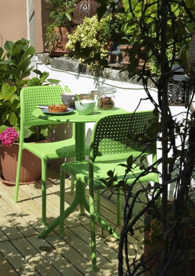 Tavolo piccolo per esterni nardi Spritz e Bora Bistrot