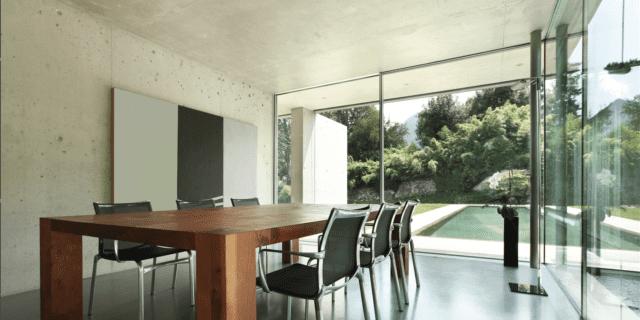 rivestimenti effetto cemento resingroup soggiorno