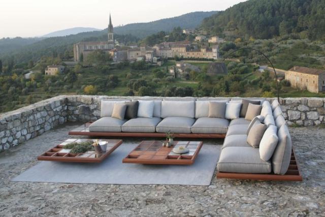 royal MOZAIX LOUNGE 02 divano per esterno