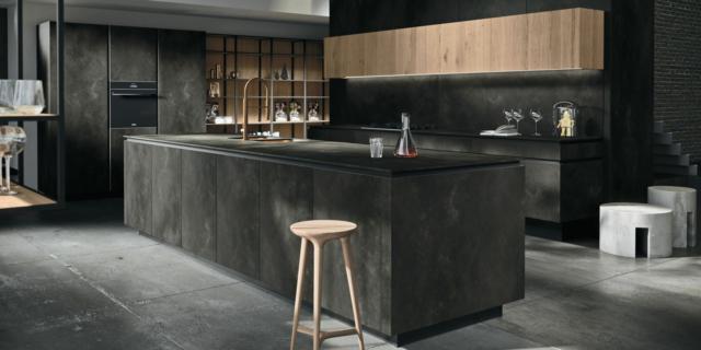 Isola Open Space Cucine Moderne.Cucina Con Isola Nel Soggiorno Open Space Cose Di Casa