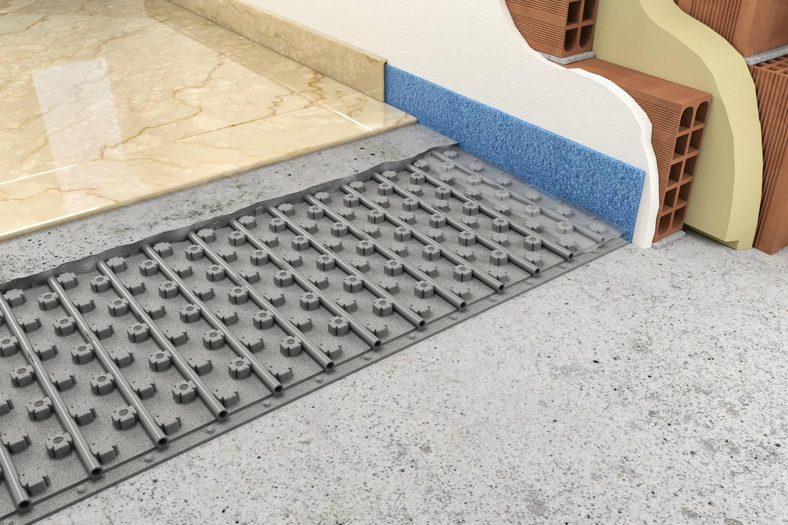 Temperatura Caldaia Impianto A Pavimento riscaldamento a pavimento viessmann, ideale anche per