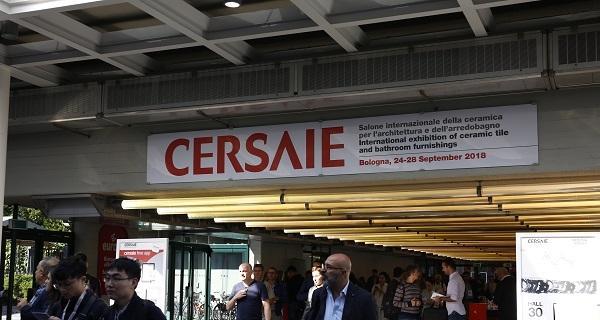 Cersaie 2019: a Bologna a settembre il Salone Internazionale della Ceramica per l'Architettura e dell'Arredobagno
