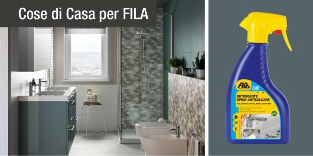 Bagno splendente con i prodotti FILA