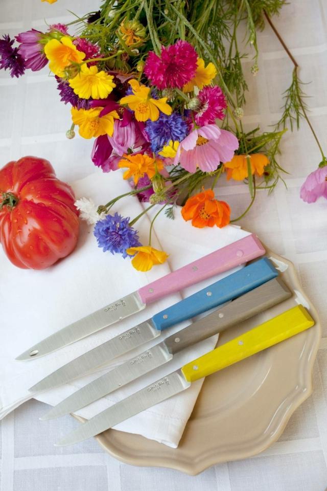 Posate colorate Opinel-Bon_appetit