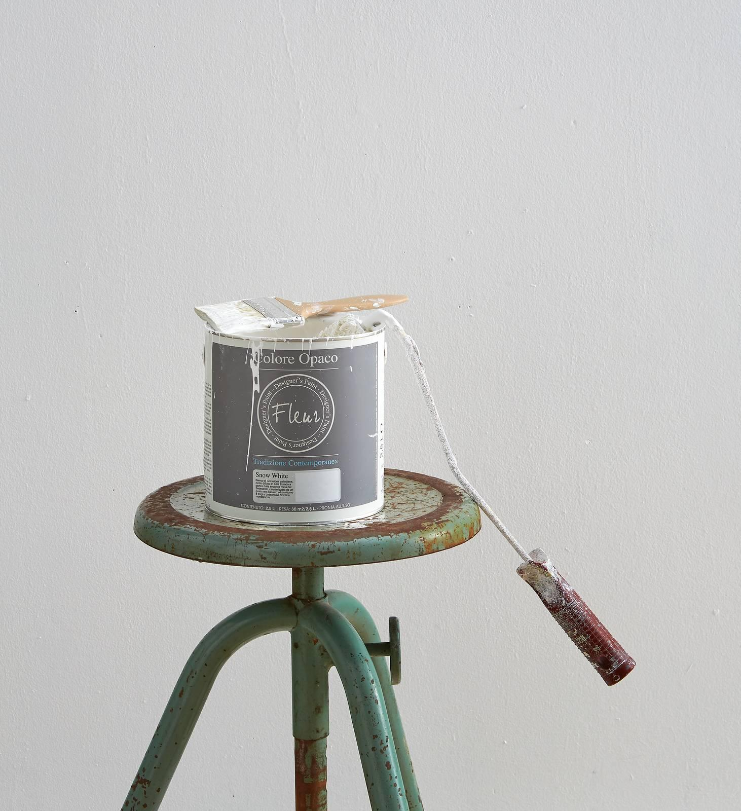 Prima Di Pitturare Una Parete tinteggiare parete per differenziare una zona della stanza