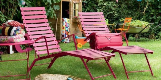 Chaise longue per esterni per prendere il sole, leggere, rilassarsi…