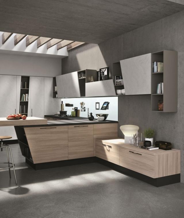 aran Cucine_Mia1 cucina effetto legno