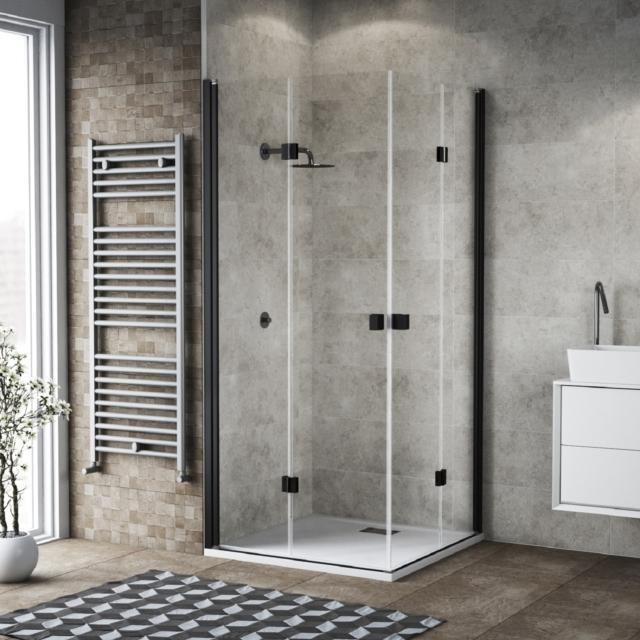 Box doccia grandi lastre profili minimi cose di casa for Cuscinetti box doccia leroy merlin