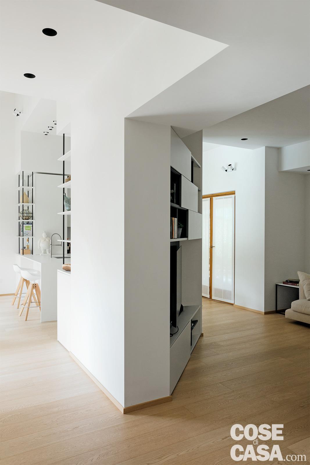 Trasformazione Sottotetto In Abitazione un sottotetto di 125 mq con vista sul verde - cose di casa