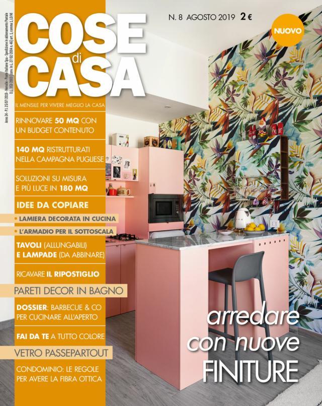 Cose di casa copertina agosto 2019