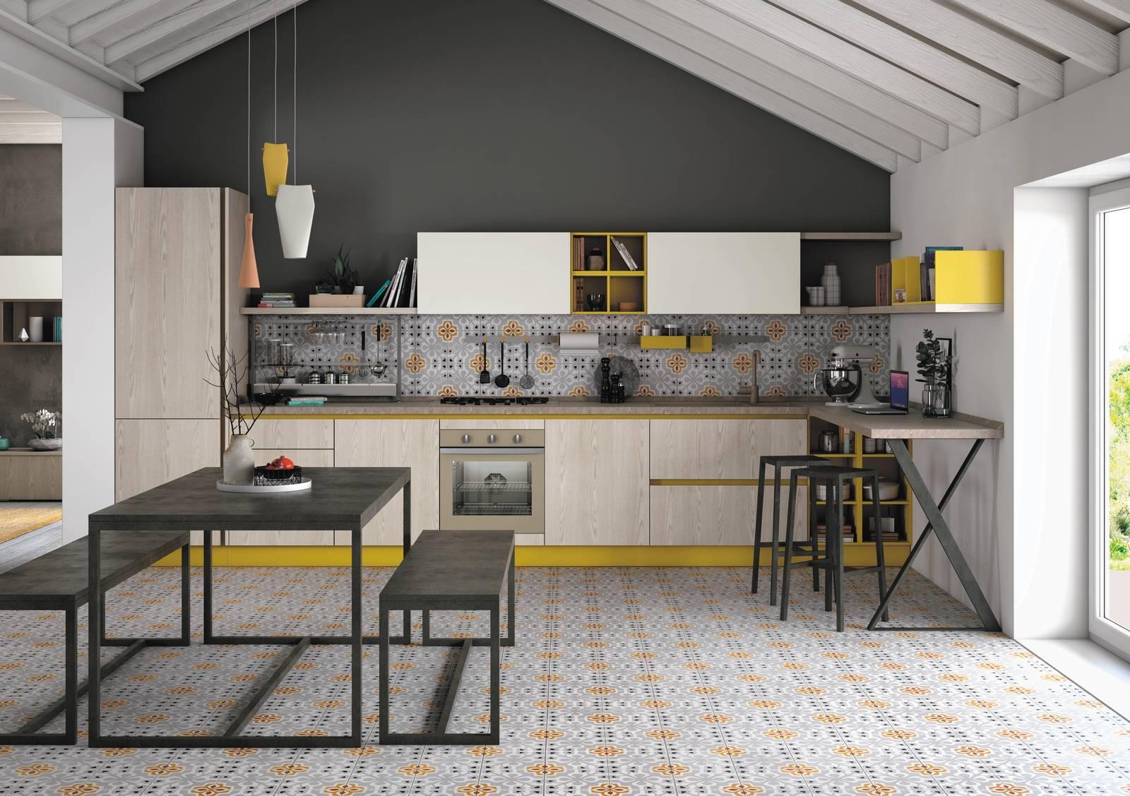 Cucine Creo Lube Opinioni cucine con dettagli colorati. foto modelli, descrizioni