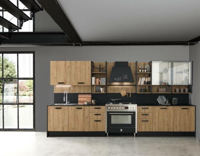febal casa ice_p.88c_ice04 cucina effetto legno