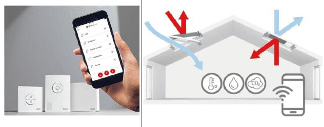 Grazie alla compatibilità con apple homekit, è possibile utilizzare i prodotti velux integra® con semplici comandi vocali. Con l'app gratuita velux active gli infissi velux si controllano anche da remoto con lo smartphone. È possibile, per esempio, creare gruppi per stanza e impostare nuovi valori limite. Acquistando una finestra velux integra® e velux active, una volta installato l'infisso basta scaricare la app ed effettuare la configurazione online. Se la finestra è manuale, si possono acquistare un motore solare (non prevede cavi né opere murarie) e velux active.
