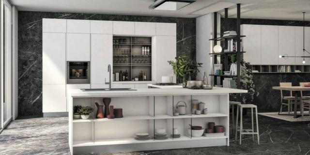 Cucine Moderne Bianche E Grigie Legno.Cucina Arredamento Idee 2019 Consigli E Tendenze Modelli E