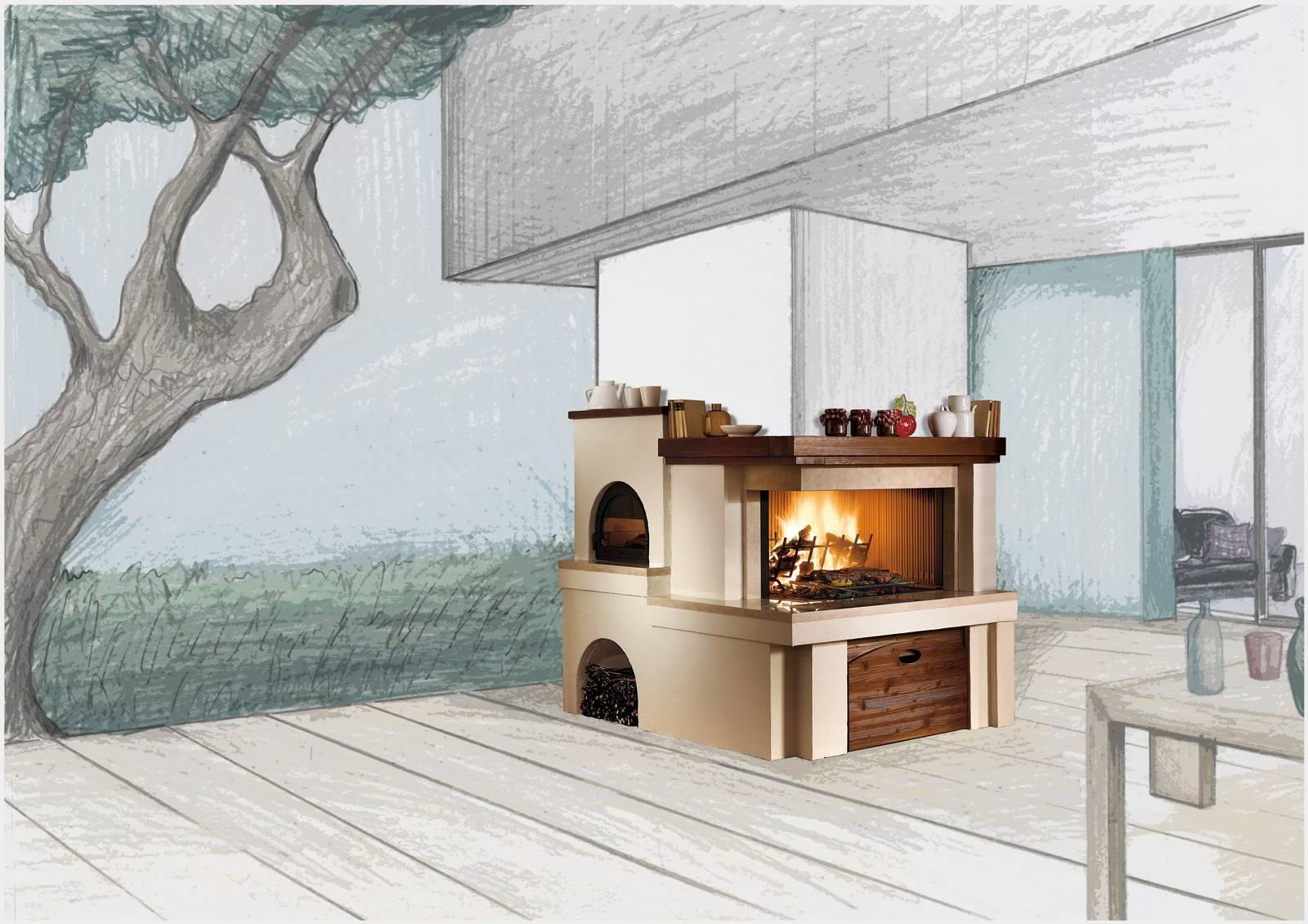 Piano Cottura In Muratura barbecue in muratura, da installare senza permessi. foto