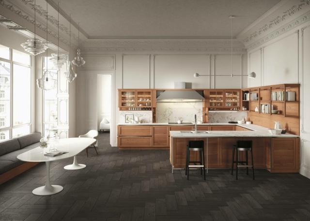 snaidero Heritage_01 cucina legno