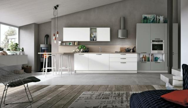 stosa-Color-Trend_cucina-grigia con-finiture-diverse