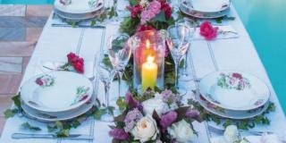 Fai da te: i fiori per allestire la tavola estiva