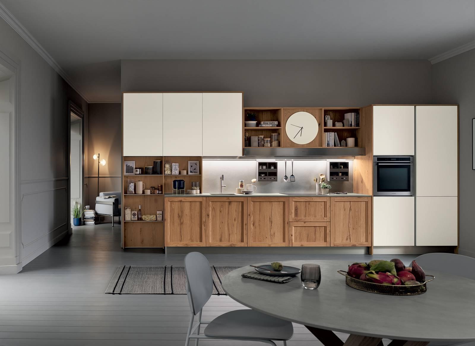 Cucina in legno: contemporanea anche nelle versioni più ...