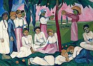 Natalia Goncharova tra Gauguin, Matisse e Picasso