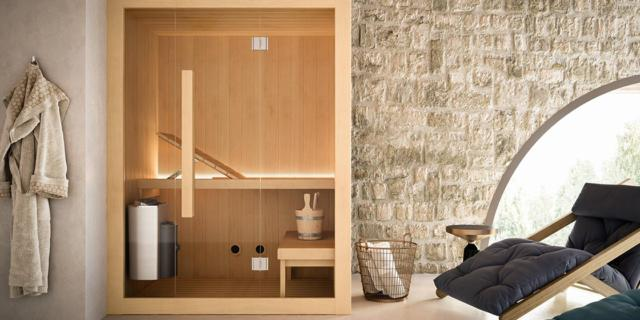 Soluzioni integrate per il benessere: la sauna nel tuo bagno