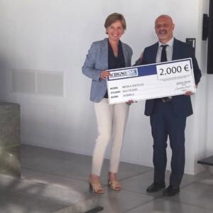 Terzo premio all'arch. Nicola Auciello, fondatore di na3 Architetti.