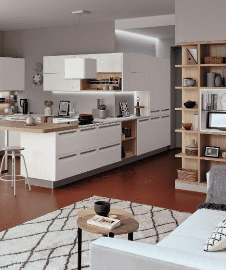 Progettare la cucina con veneta cucine Carrera F1