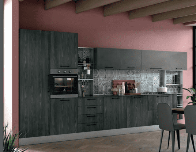 cucina grigia Tablet di Creo Kitchens by Lube