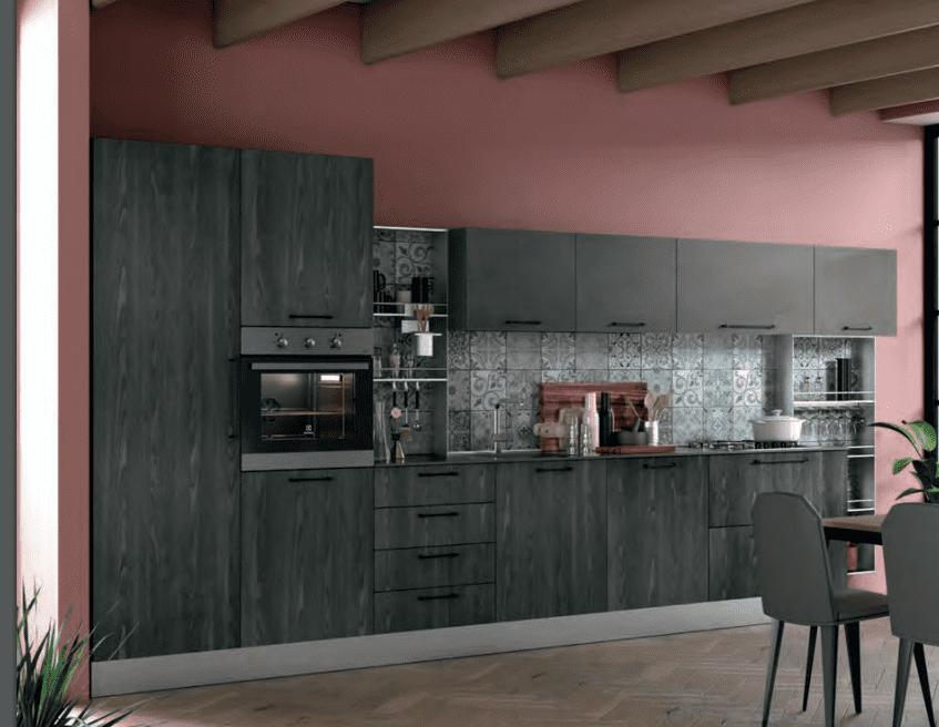 Cucine grigie: un tocco di sobrietà ed eleganza. Foto - Cose ...