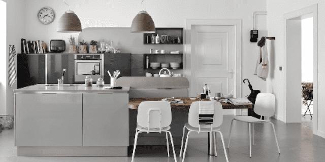 Cucine grigie: un tocco di sobrietà ed eleganza