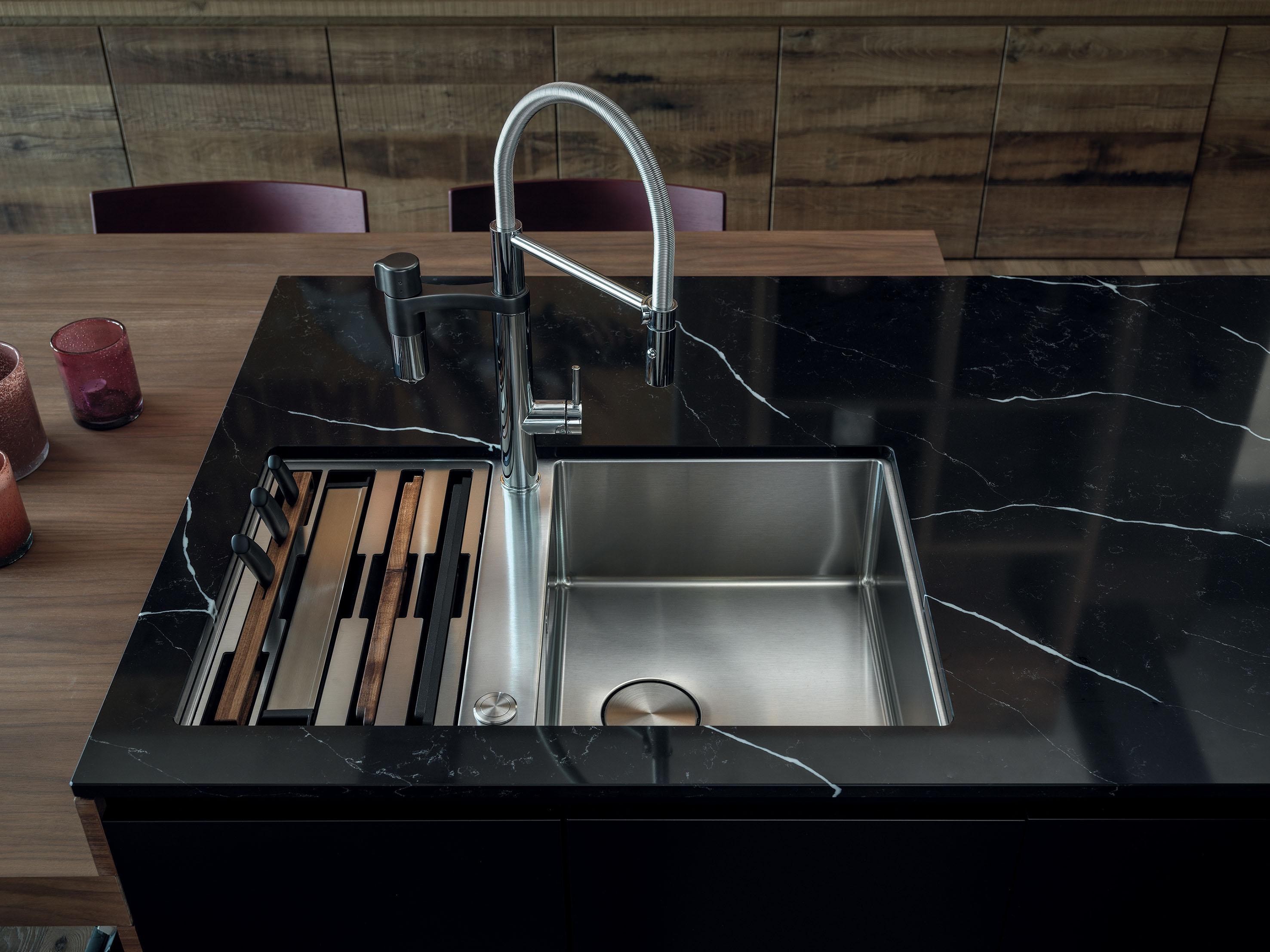 Accessori Per Lavelli Franke.Una Workstation Su Misura Lavelli Cucina Box Center Franke Cose Di Casa