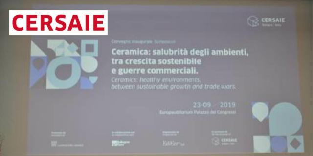Sostenibilità, salubrità e competitività della ceramica italiana