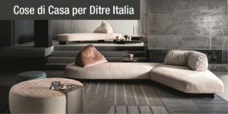 Il divano Papilo di Ditre Italia: l'omaggio al passato si veste di innovazione