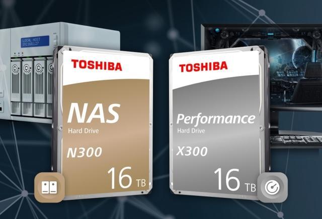 IFA 2019 - Toshiba_N300_X300_16TB