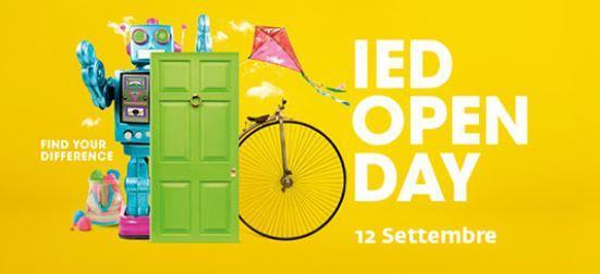IED Open Day 2019: porte aperte il 12 settembre